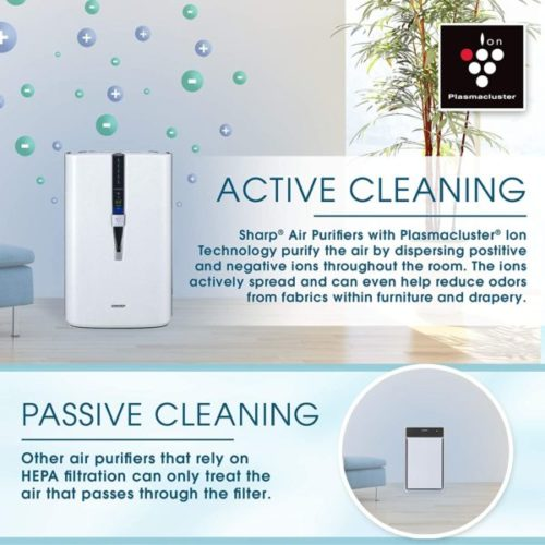 15. SHARP PlasmaCluster Air Purifier and Humidifier