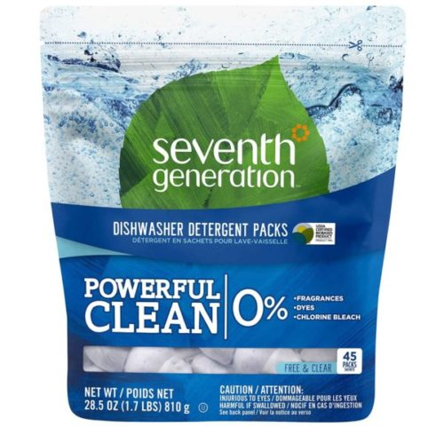 3. Seventh Generation Dishwasher Detergent