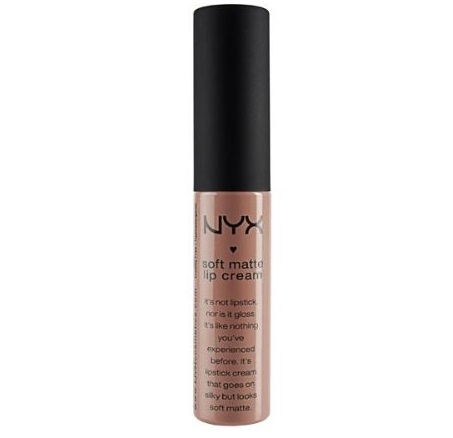 4. NYX PROFESSIONAL High-Pigmented Cream Soft Matte Lipstick
