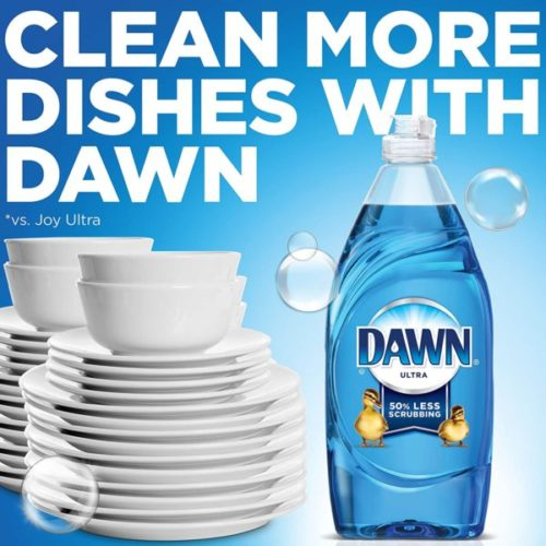 5. Dawn Original Scent Dishwashing Liquid