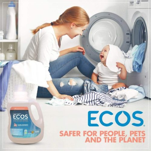 9. ECOS Liquid Laundry Detergent Magnolia and Lily Earth Friendly Products