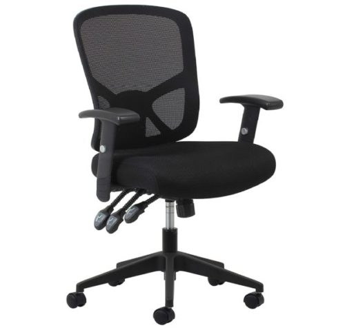 12. OFM Essentials Paddle Ergonomic Mesh High Back Office Chair with Lumbar Support
