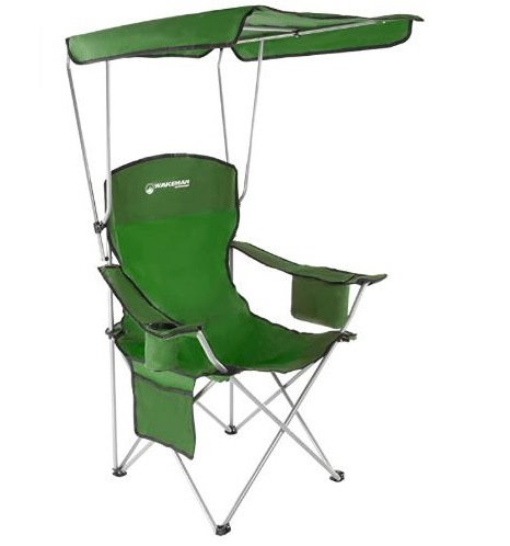 12. Wakeman Outdoors Fishing Chair with Canopy
