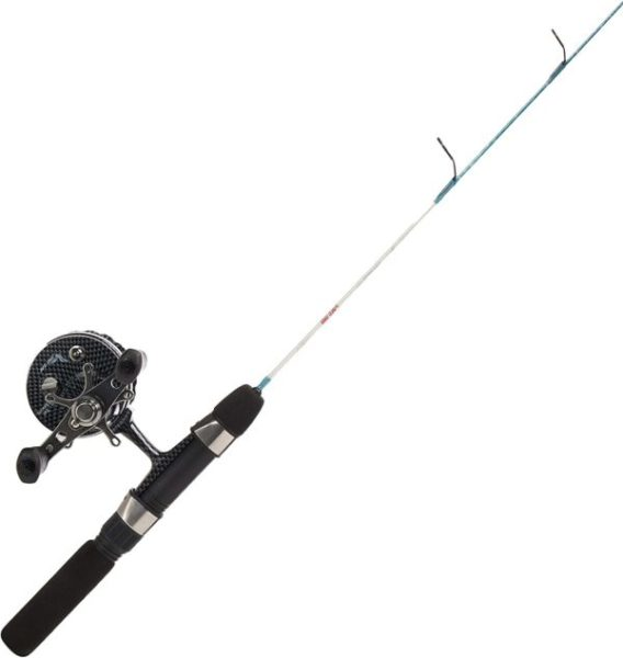 13. Eagle Claw Fishing Rod and Reel Cold Smoke Inline Ice Licht Combo