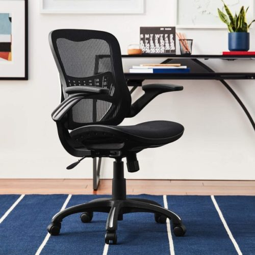 5. Office Star Mesh Back and Seat Managers Office Chair with Lumbar Support 2 to 1 Synchro