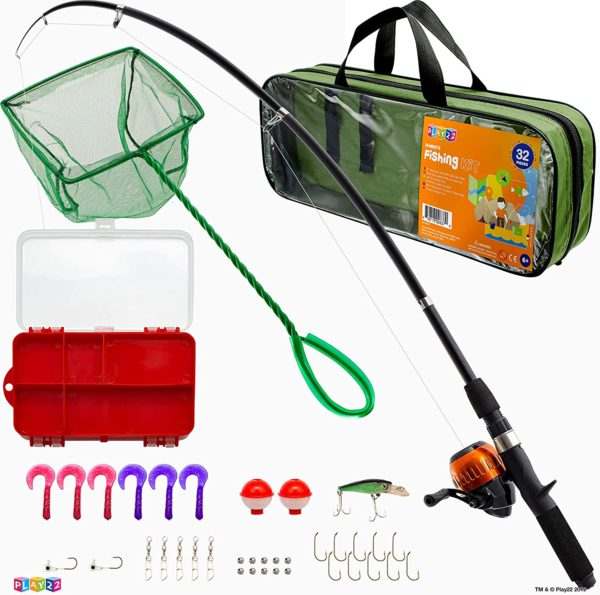 6. Play22 Fishing Rod and Reel for Kids Combos