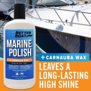 11. Better Boat Fiber Glass Metal Painted Boat Polish and Polish