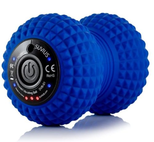 11. SUVIUS Electric Vibrating Massage Ball for Firm Battery Powered