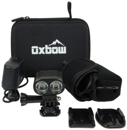 12. Oxbow Gear Voyager Helmet GoPro Mount Kit with Rechargeable Battery