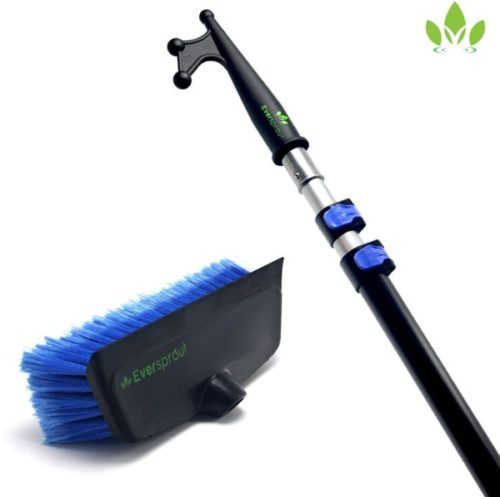 14. EVERSPROUT Boat Hook and Scrub Brush Kit with Built-in Bumper Prevent Scratching