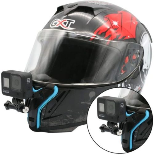 14. Motorcycle GoPro Helmet Mount Kit Strap with Short Connection