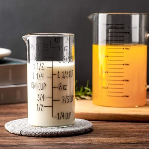 14. UMEIED Measuring Cups Set with Handle