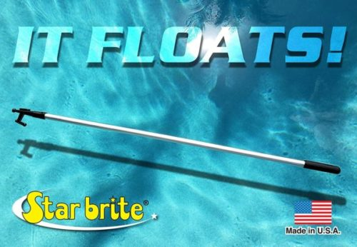 2. STAR BRITE Telescoping Boat Hook with Floating and Unbreakable
