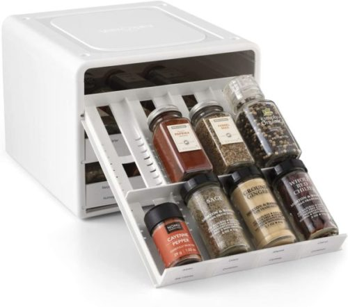 2. YouCopia Adjustable Spice Rack