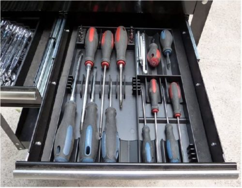 3. Tool Sorter Made in USA Screwdriver Organizer