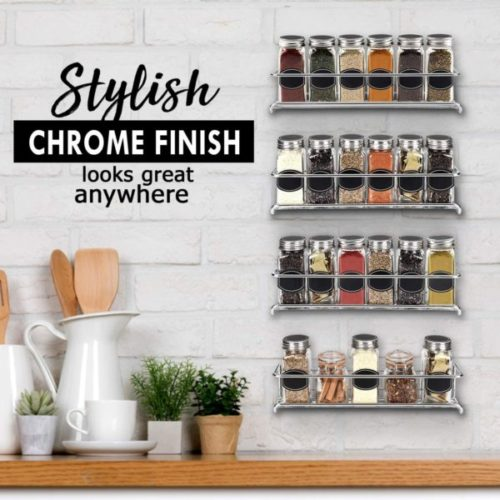 5. The Ultimate Hanging Spice Rack Organizer