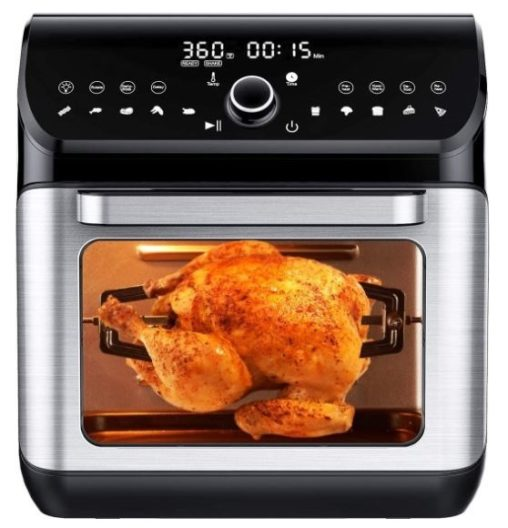 6. IKICH Air Fryer Oven Silver
