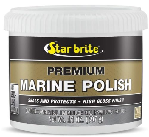 6. STAR BRITE Premium Marine Boat Wax and Polish with PTEF That Have Seal and Protect Gel Coat