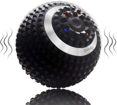 7. Wolady Electric Vibrating Massage Ball 4 Speed Roller