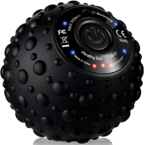 8. SUVIUS Rechargeable Electric Vibrating Massage Ball Roller