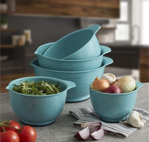 9. KitchenAid Classic Large Mixing Bowls Nest