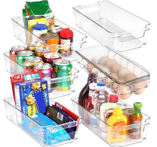9. Utopia Home Pantry Organizer BPA Clear Plastic Storage Rack