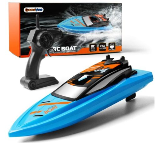 10. Gizmovine Remote Control Toy Boat for Kids Racing Boat