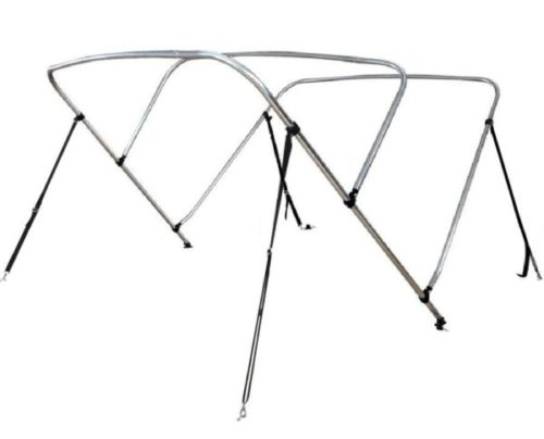 10. Leader Shrimp Bimini Top Boat Cover Support Options with Adjustable Strap