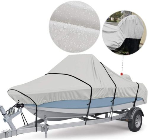 10. RVMasking Oxford Boat Cover Waterproofing Trailerable