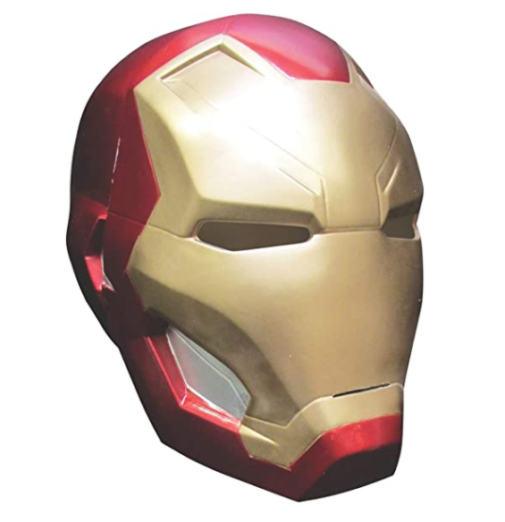 10. Rubie's Costume Iron Man Heltmet for Teens and Adults