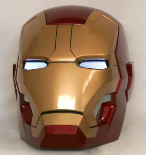 11. Gmasking Electronic Iron Man Helmet with Cosplay Prop