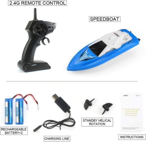 11. JJRC RC Toy Boat for Kids with Rechargeable