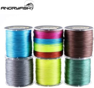 12. ANGRYFISH Super Power Wonderful Braided Fishing Line