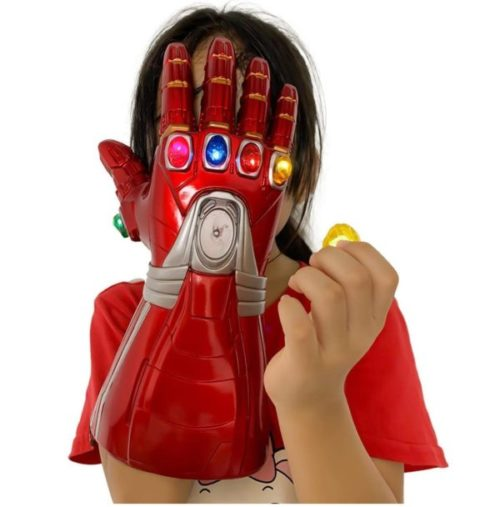 12. XXF LED Iron Man Glove Infinity Gauntlet for Kids