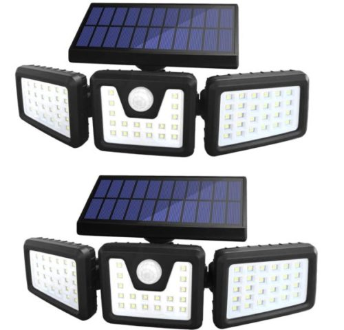 13. Sonata Solar Powered Motion Light with Adjustable Heads and Wide Angle Illumination