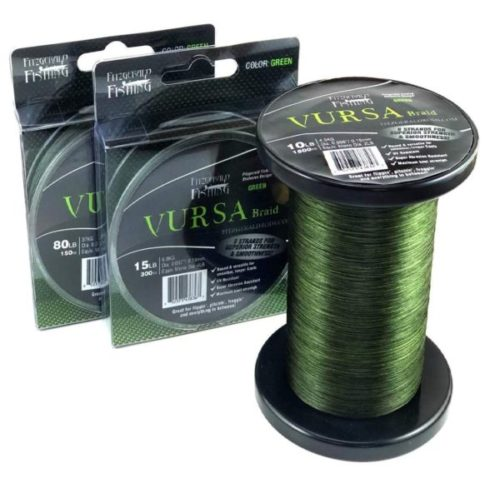 15. Fitzgerald Fade Resistant Braided Fishing Line for Freshwater and Saltwater