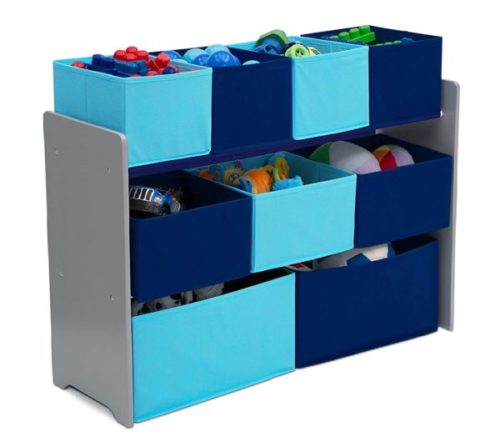 2. Delta Children Deluxe Toy Organizer Bins