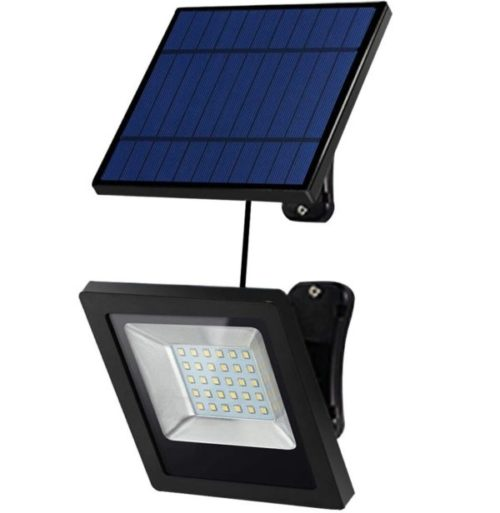 2. Hikeren Waterproof Solar Powered Motion Sensor Light