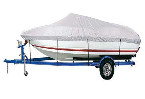 2. iCOVER Trailerable Polyester Fit Boat Cover Waterproofing Marine Grade