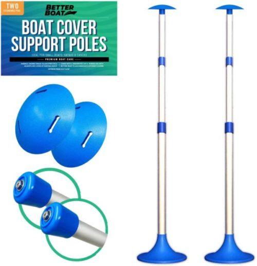 4. Better Boat Cover Support Poles Systems for Boat Covers
