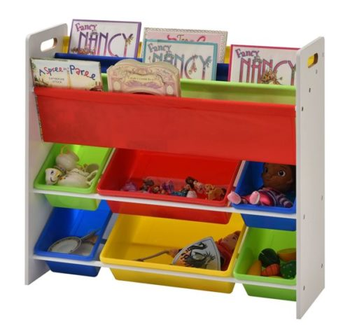 5. Muscle Rack Kids Book and Toy Organizer