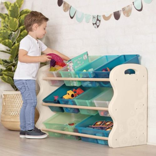 6. B. spaces by Battat Tidy Kids Toy Organizer Set Bins