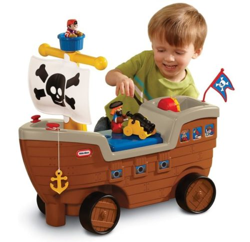 6. Little Tikes Toy Boat for Kids Pirate Ship