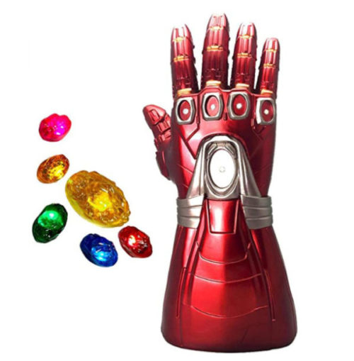 6. XXF Removable Magnet LED Stones Iron Man Glove Infinity Gauntlet