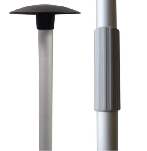 7. Budge Black Boat Cover Support Pole