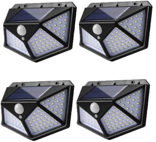 7. Eicaus LED Outdoor Waterproof Solar Motion Sensor Light with Wide Angle