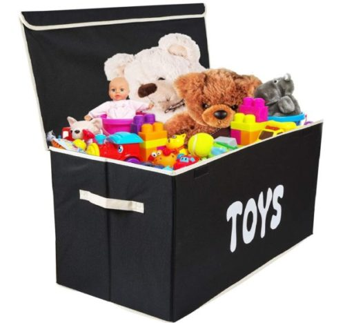 7. Woffit Toy Storage Bin with Extra Large for Kids