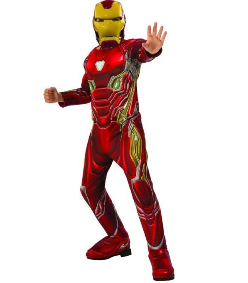9. Rubie's Costume Iron Man Suit for Kids Marvel Avengers