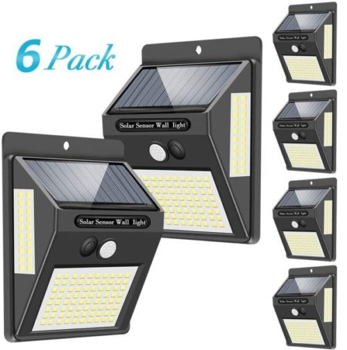 9. Towkka Outdoor Solar Security Motion Sensor Light