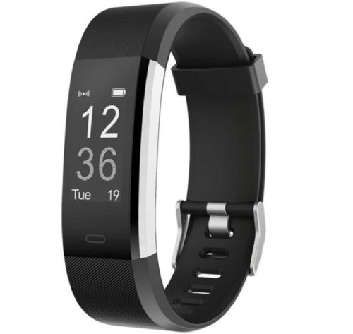 1. LETSCOM Kids Fitness Tracker Activity HR Watch with Heart Rate Monitor and IP67 Waterproof